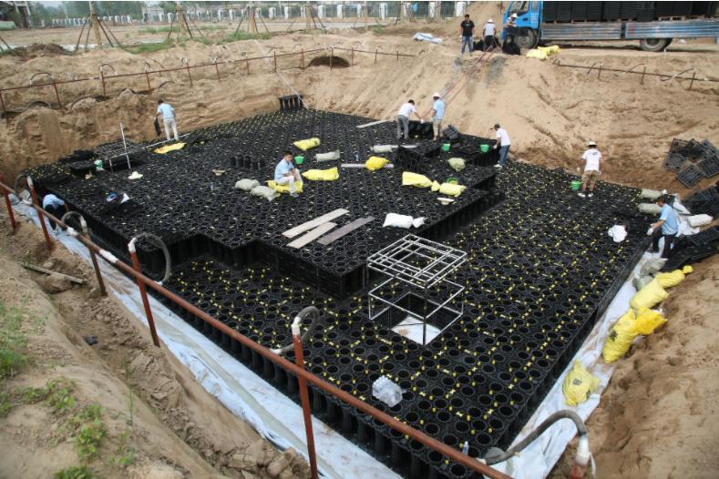 雨水收集回用系统的安装