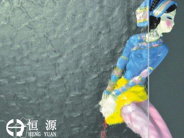 恒源压花玻璃水纹 Aqualite