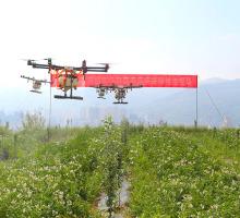 无人机防治农作物病虫害