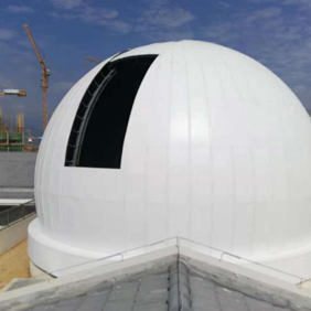 传统经典型,内藏式和外盖式天文圆顶