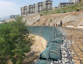 湖北武汉钢塑格栅施工反馈