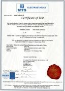EN ISO 1149-3 CERTIFICATE