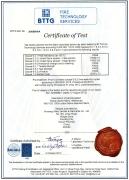 EN ISO 11612 CERTIFICATE