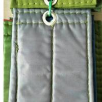 灰色棉门帘样品