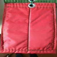 红色棉门帘样品