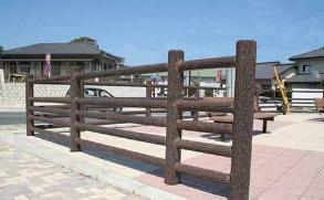 武汉仿木栏杆