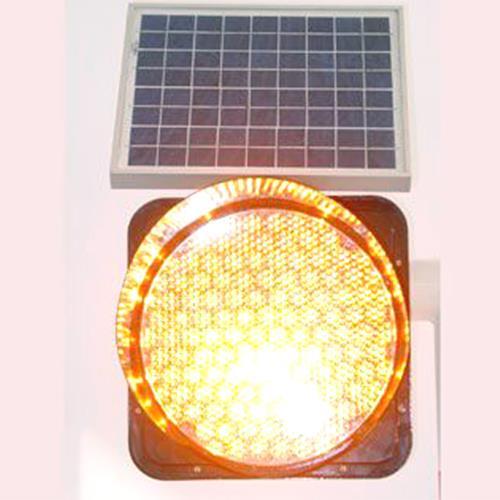交通信号灯杆 黄闪灯 交通标志杆