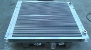 武汉空压机配件冷却器