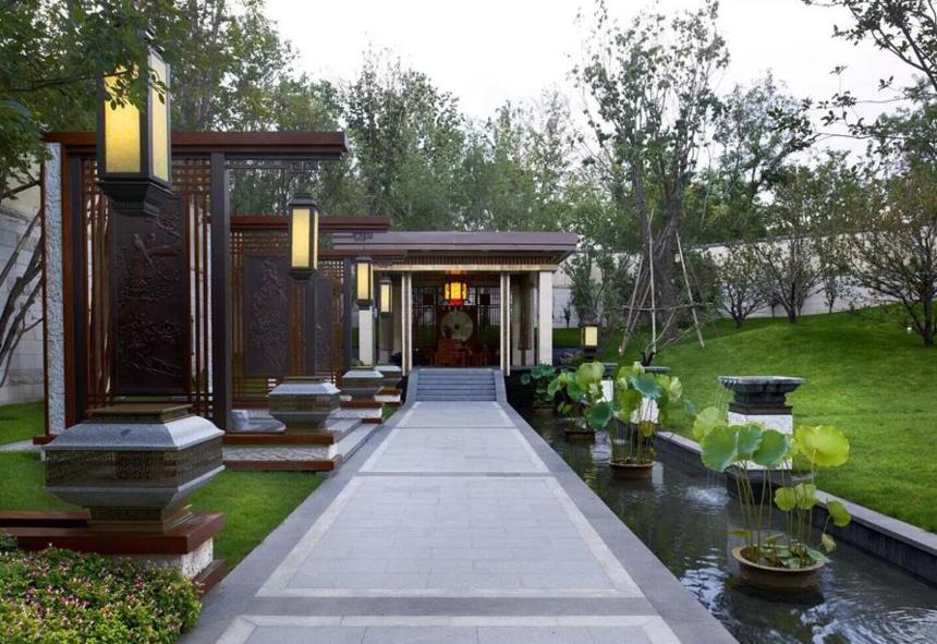 新中式园林景观设计