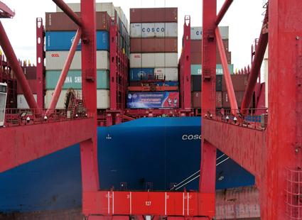 第四届进博会首批海运展品抵达上海