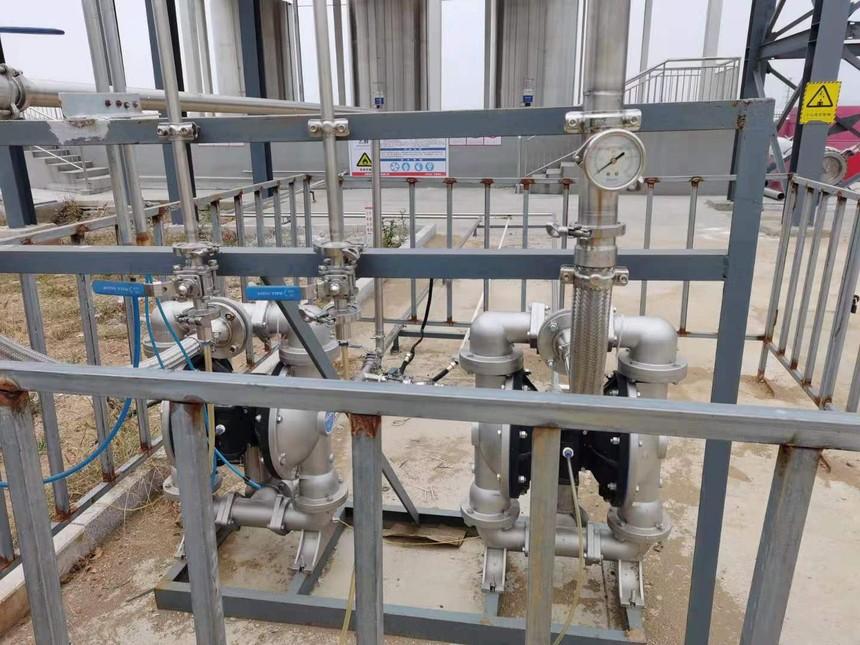 不銹鋼隔膜泵