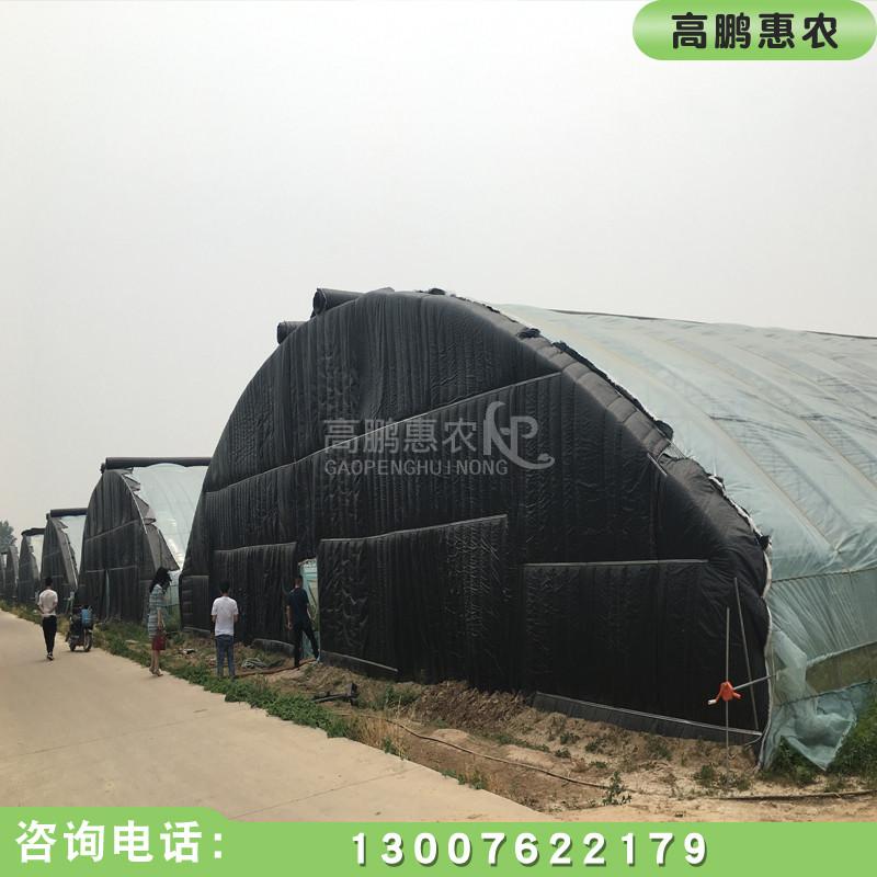 陕西大跨度温室大棚建设成品展示