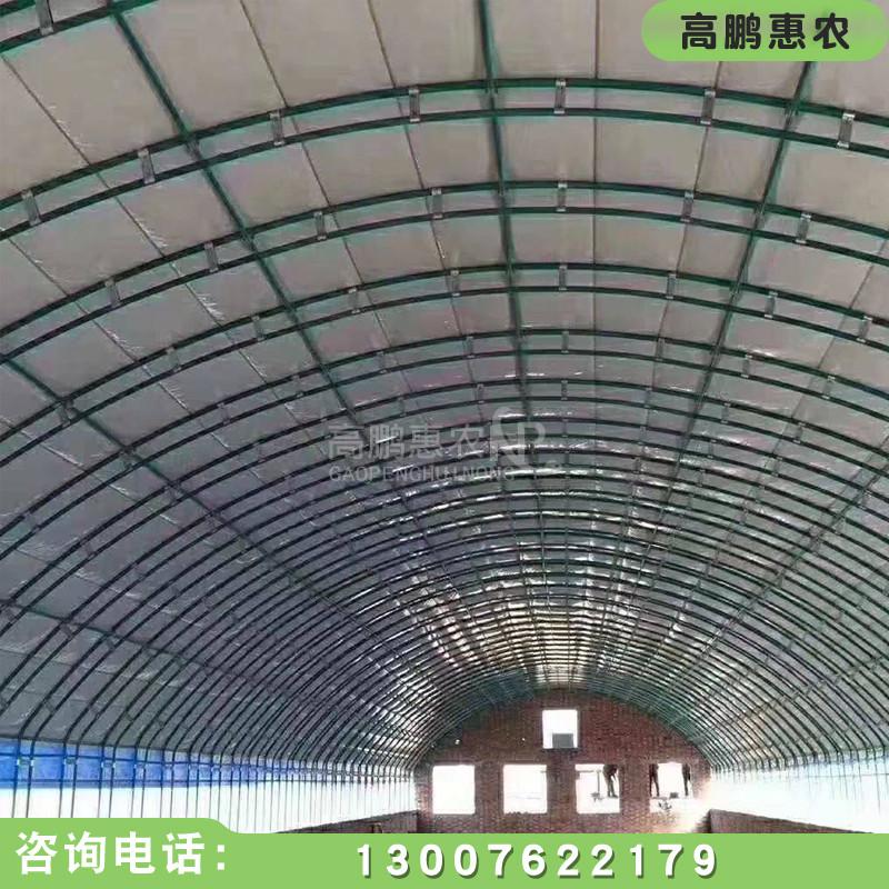 太原养殖温室大棚建设施工效果展示