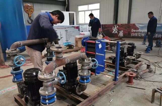 山东华辰工业科技有限公司板式换热器的主要结构