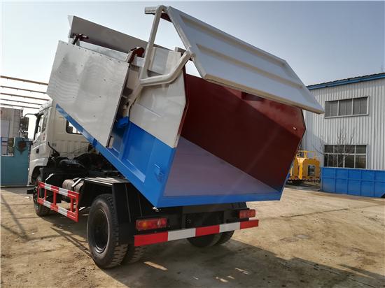 全密封12吨污泥清运车报价