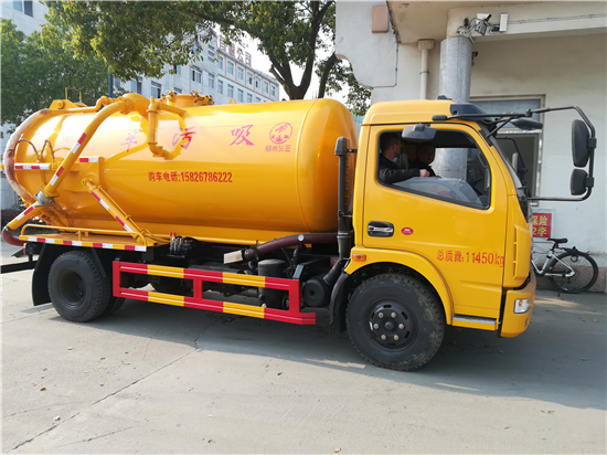 过滤稀泥12吨污泥清运车