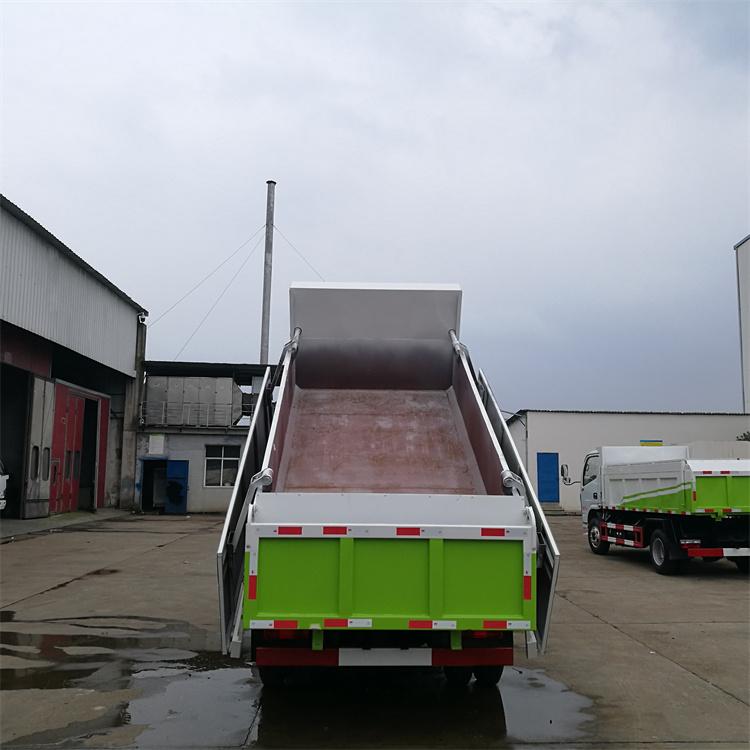 污泥粪便运输自卸车厢体展示