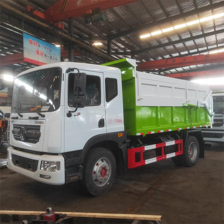 淤泥运输车是专用自卸车与污水处理厂污泥出口的完美连接(严格执行污泥不落地政策要求)。