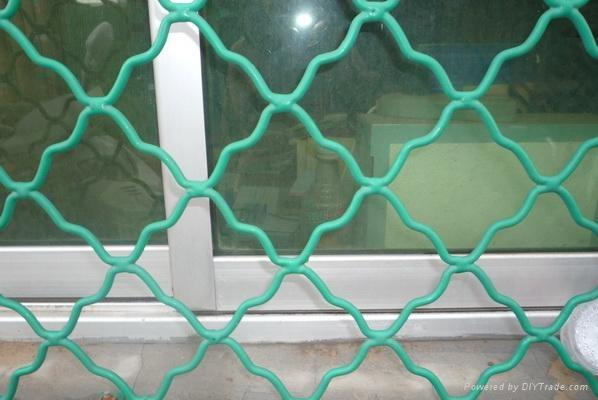 喷塑防锈钢丝防盗窗加工.jpg