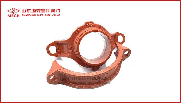 品质坚固耐腐消防管件机械三通沟槽管件