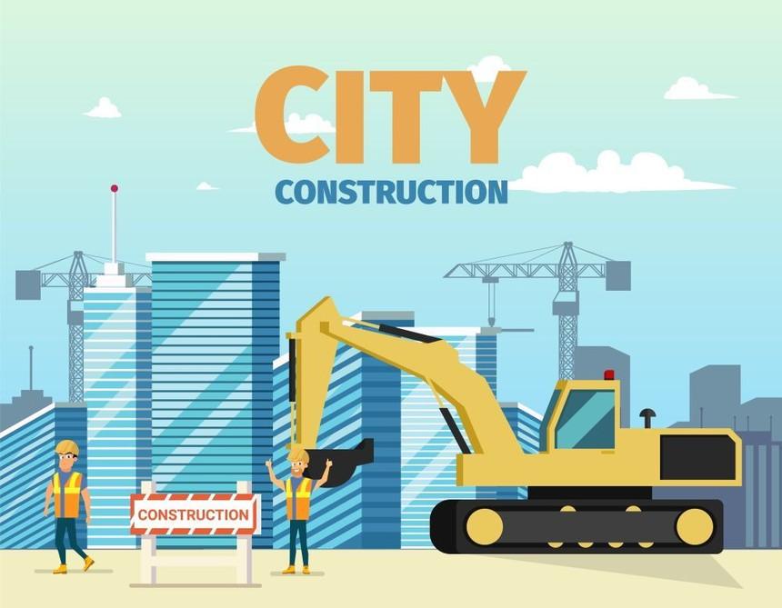 摄图网_305463000_建筑挖掘机男建筑师的背景城市矢量图(非企业商用).jpg