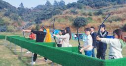 草原弯弓射箭