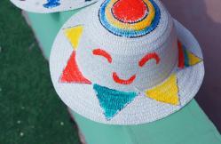 彩绘太阳帽
