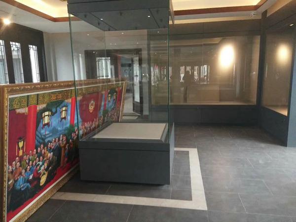 博物館古董展柜