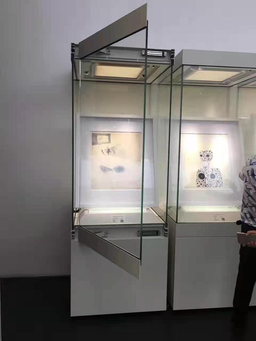 博物館展柜智能開啟展柜jpg