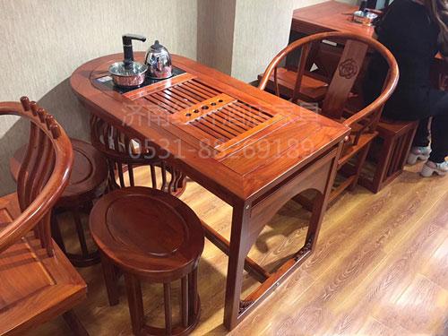 紅木仿古茶桌
