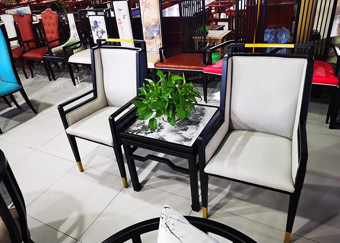 濟南休閑餐桌椅