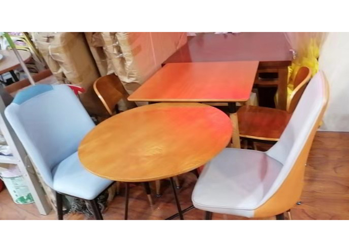 濟南休閑圓形餐桌