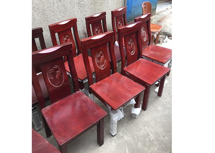 濟南中式實木餐椅