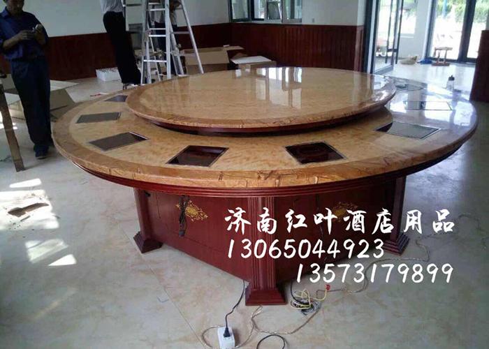 濟南電磁爐轉盤火鍋桌