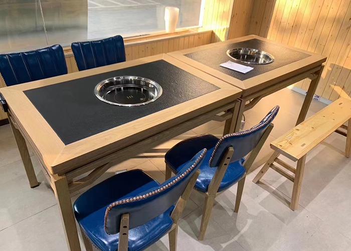 濟南電磁爐火鍋桌