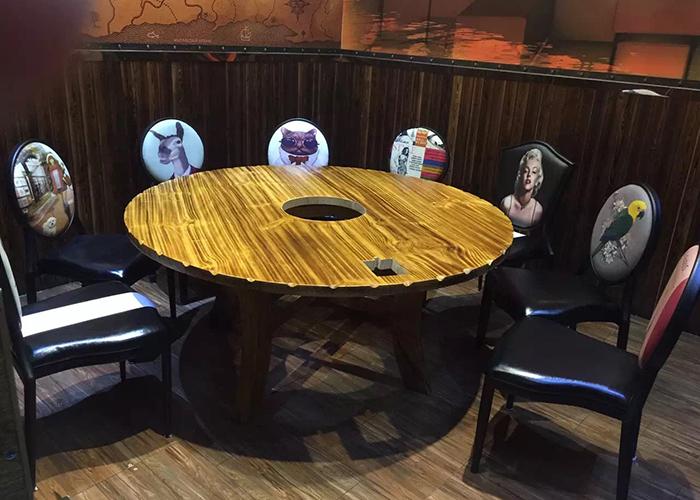 濟南榆木火鍋桌