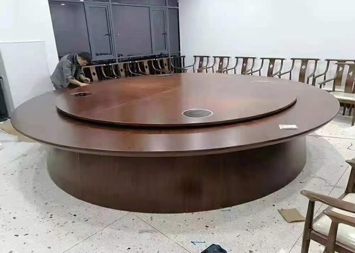 濟南大尺寸圓桌轉盤