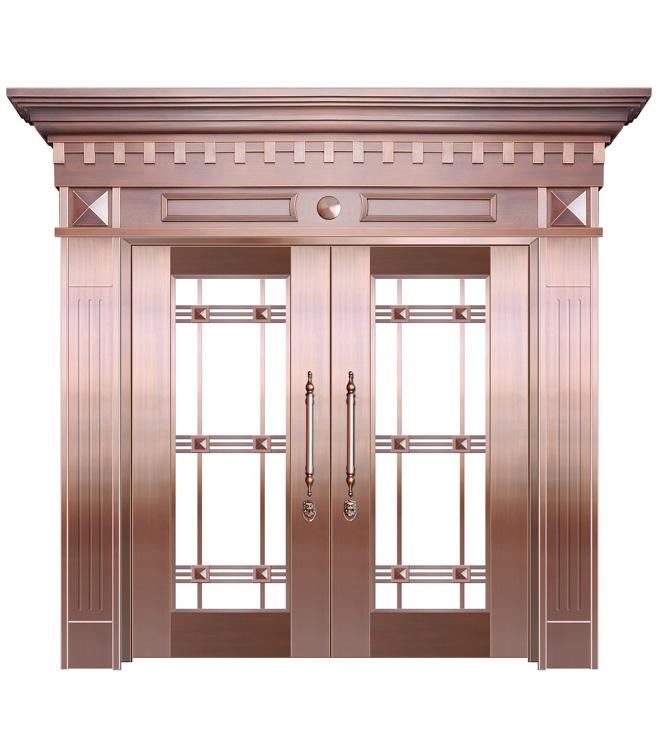 济南玻璃铜门