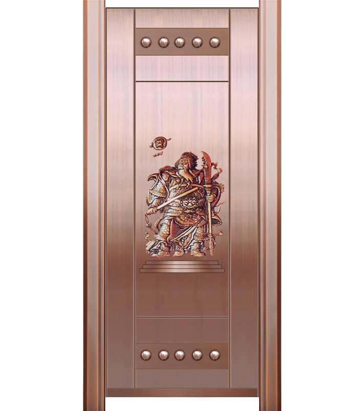 门神单开铜门