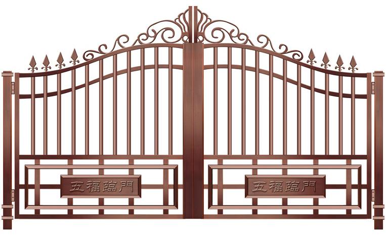 别墅铜门定制