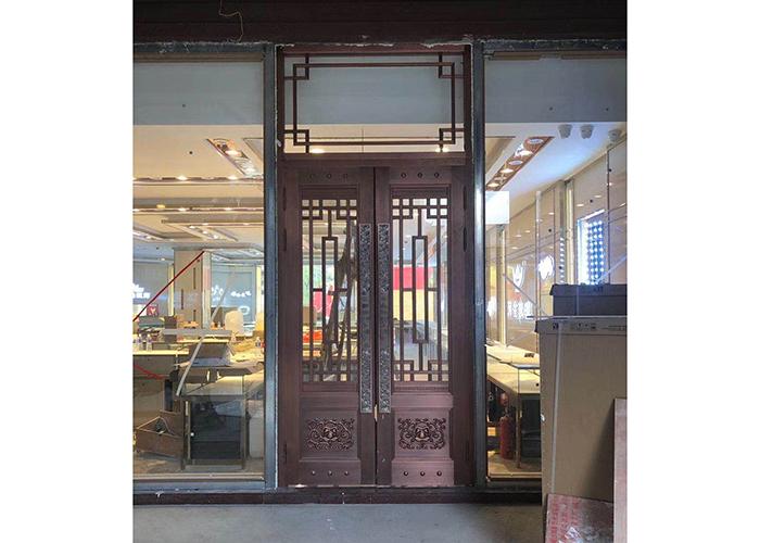 济南庭院铜门