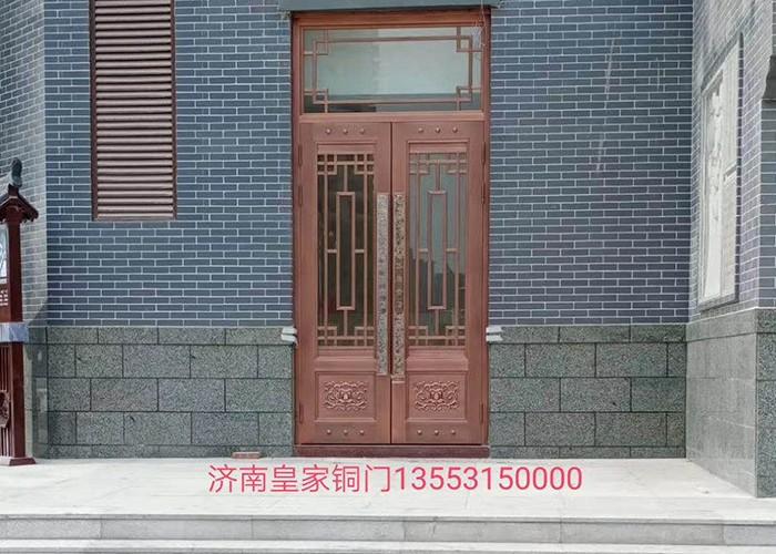 山东庭院铜门