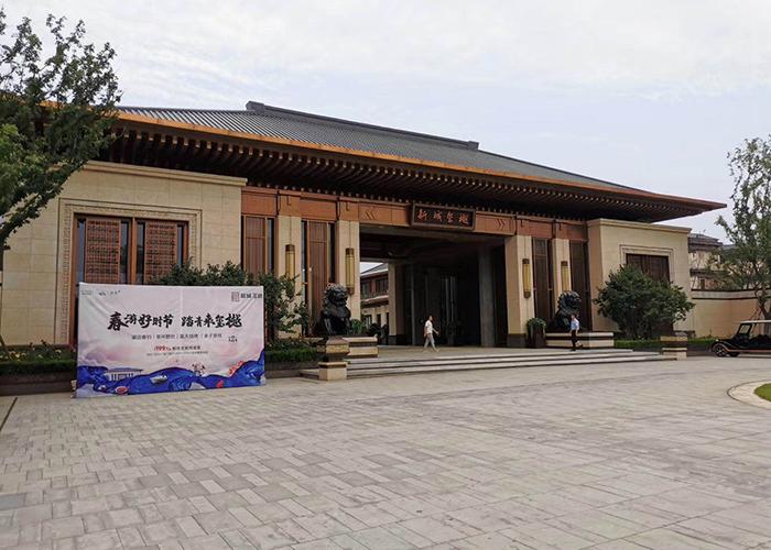 济南庭院铜门介绍