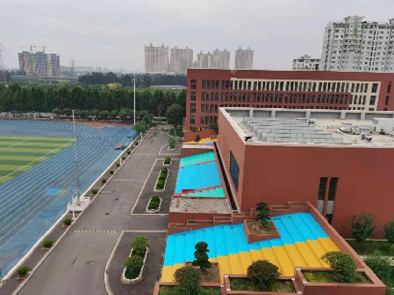 淄博实验学校看台