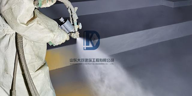 聚脲防水材料在化工防腐方面的应用