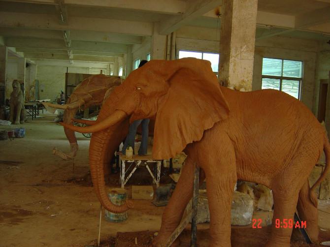 非洲象——泥稿.jpg
