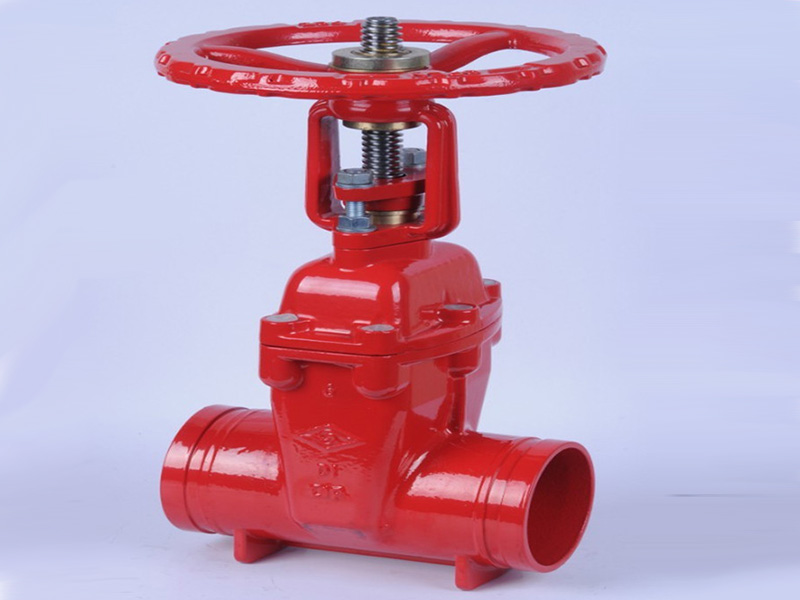 迈克管件消防信号蝶阀安装方法