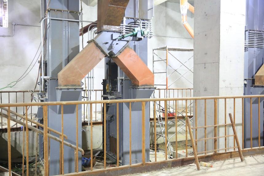 双通道提升机产品案例图片展示