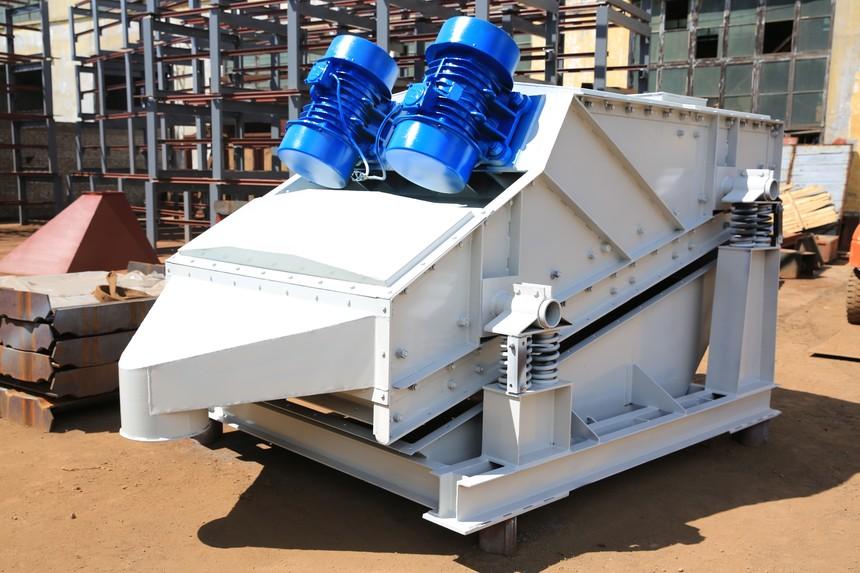 砂石振动筛产品案例图片展示