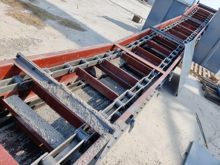 埋刮板输送机产品案例图片展示